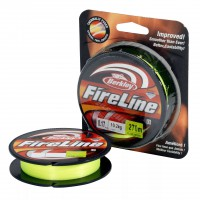 "Леска-шнур ""BERKLEY"" FireLine Flame Green 0.12мм, 110м (New)"