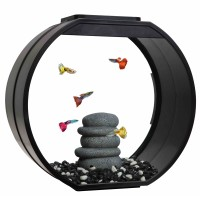 Аквариум AA-Aquariums Deco O UPG, 20л, черный, 395*187*375мм
