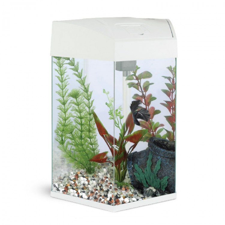 Аквариум AA-Aquariums Hexagon 22л, белый, 330*300*433мм