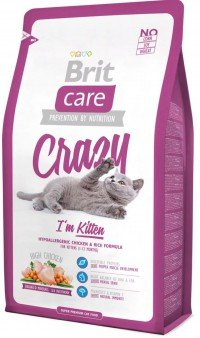Сухой корм Brit Care Cat Crazy Kitten для котят (курица)