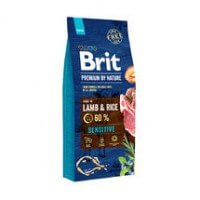 Сухой корм для собак Brit Premium by Nature Dog Sensitive Lamb & Rice, ягненок и рис