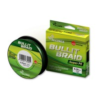"Леска плетенка ""ALLVEGA"" Bullit Braid dark green 0.16 92м"