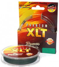 "Леска плетенка ""POWER PHANTOM"" 4X XLT зеленая 0.30 -120м"
