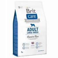 Сухой корм Brit Care Dog adult large breed для собак крупных пород (ягненок)