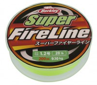 "Леска-шнур ""BERKLEY"" FireLine Super Green 2.5, 150м 1324467"
