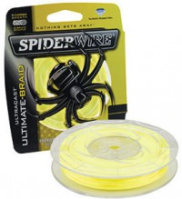 "Леска плетенка ""SPIDERWIRE"" Ultracast 8 Carrier Yellow 0.12мм 110м 1278821"