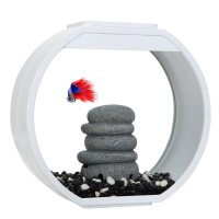 Аквариум AA-Aquariums Deco O Mini UPG, 10л, белый, 335*136*310мм